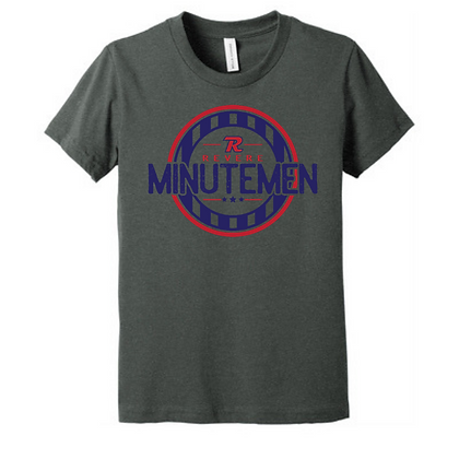 Revere Minutemen Short Sleeve T-Shirt Design A