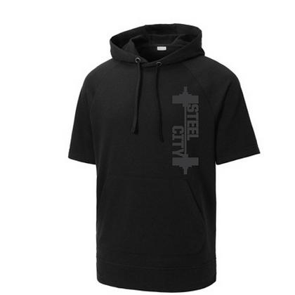 Steel City Design #6 Short Sleeves Unisex Hoodie