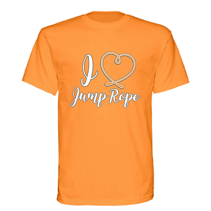 I Heart Jump Rope Unisex T-shirt