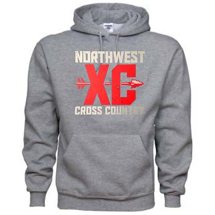 Northwest Indians Cross Country Logo #44 Unisex Hoodie