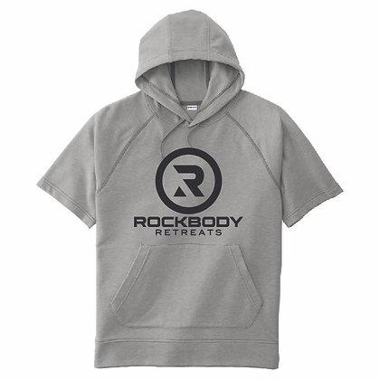 Rockbody Short Sleeves Unisex Hoodie