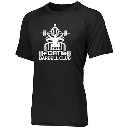 Fortis Weightlifting Barbell Club Logo (White) Men's Compression