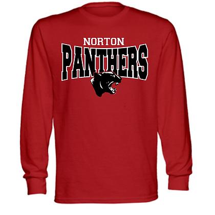 Norton Panthers General Logo #6 Unisex Long Sleeve T-Shirt
