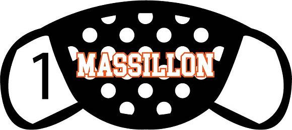Massillon Polka Dots Face Mask