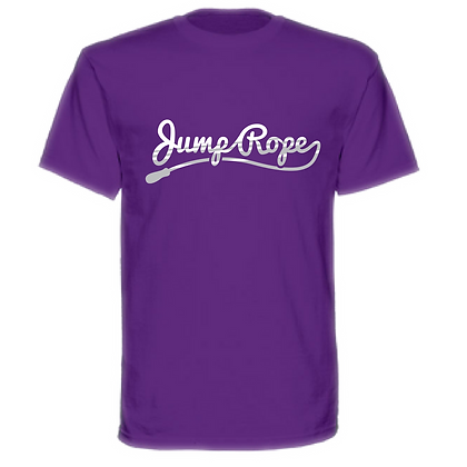 Gameday Jump Rope Cursive Unisex T-shirt