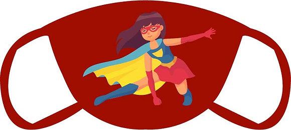 Super Girl Face Mask