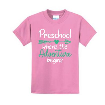 Adventure Begins Youth Shirt