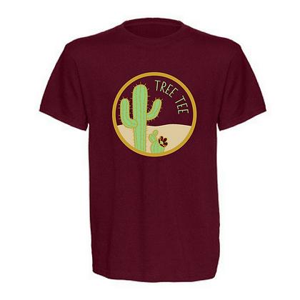 Tree Tee Cactus Adult Unisex T-Shirt