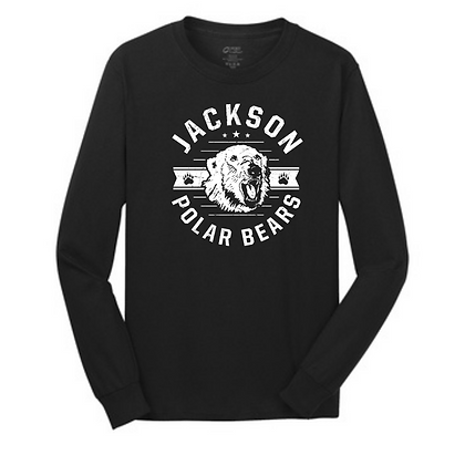 Rounded Distressed Jackson Long Sleeve