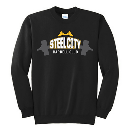 Steel City Design #4 Unisex Cotton blend Crewneck