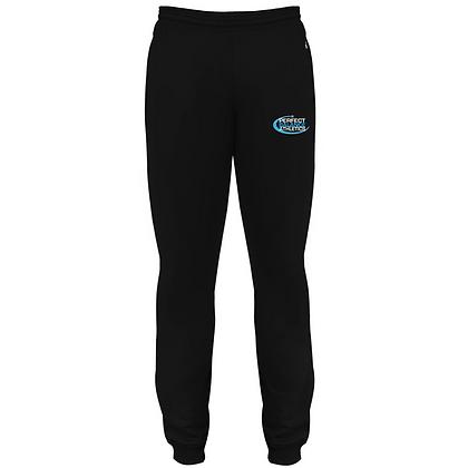 Blue Storm Athletics Logo (Solar Blue & White) Joggers