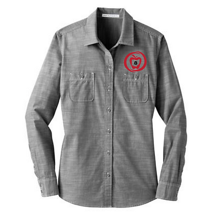 SST8 Icon Embroidered Ladies Chambray