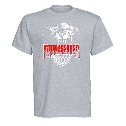 Manchester Panthers Basketball Logo #45 Unisex T-Shirt