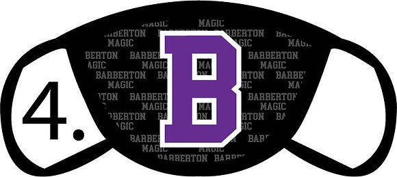 Barberton Block B Face Mask