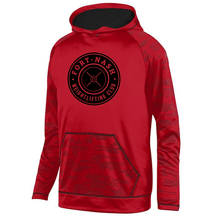 Fort Nash Weightlifting Club Logo A Sleet Hoodie