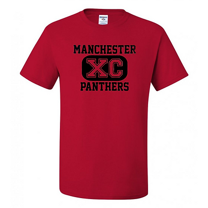 Manchester Panthers Cross Country Logo #51 Unisex T-Shirts