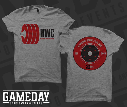 HWC Unisex Triblend T-shirt - Athletic Heather Grey