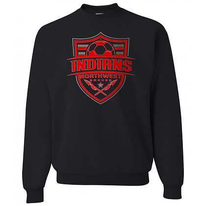 Northwest Indians Soccer Logo #57 Unisex Crew Neck Sweater