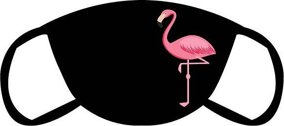 Flamingo Face Mask