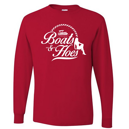 Boats and Hoes Unisex Long Sleeve T-Shirt