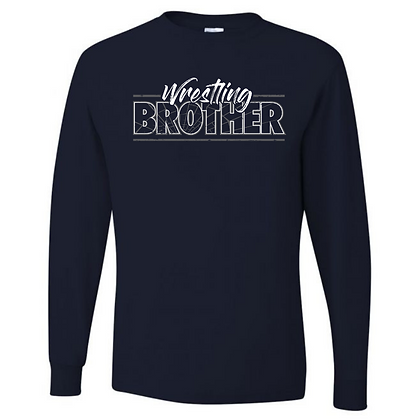 Wrestling Logo #19 Unisex Long Sleeve T-Shirt