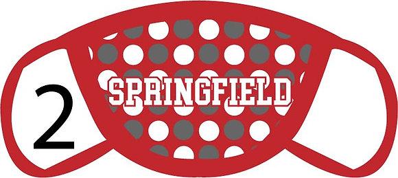 Springfield Polka Dots Face Mask