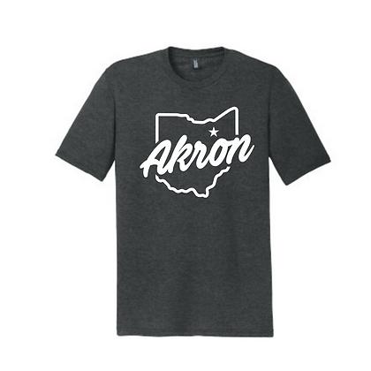 Akron Ohio Unisex Triblend T-Shirt