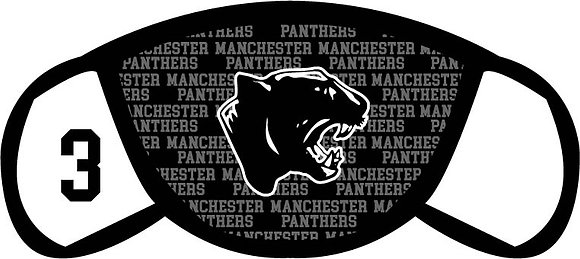 Manchester Panthers Face Mask