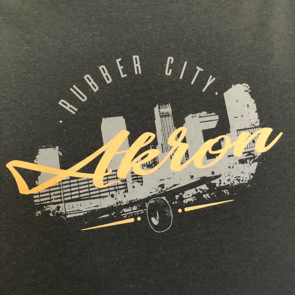 Akron Rubber City T-Shirt