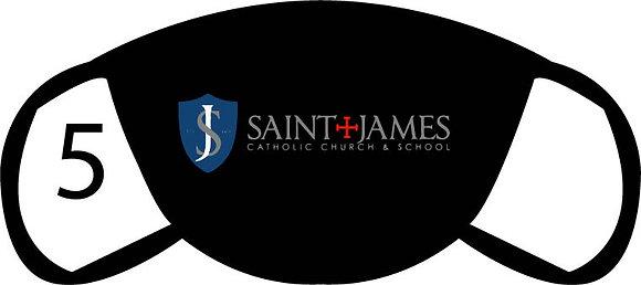 St. James Large Logo Face Mask
