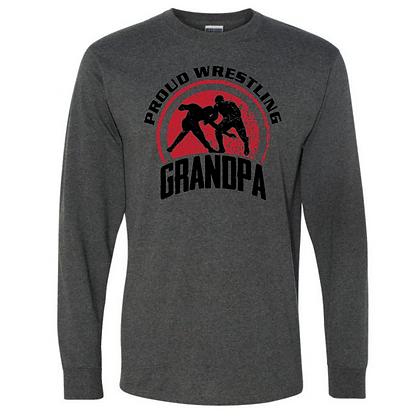 Wrestling Logo #9 Unisex Long Sleeve T-Shirt