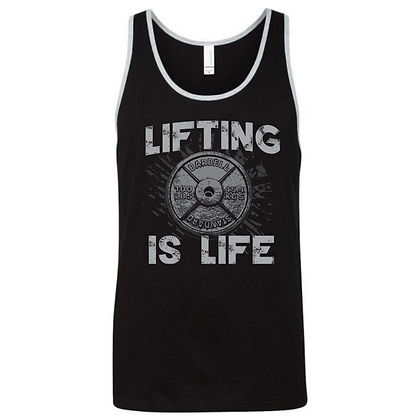 Lifting is Life Unisex Tank Top