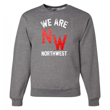 Northwest Indians General Logo #7 Unisex Crew Neck Sweater