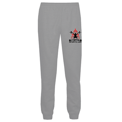 Fortis Weightlifting Barbell Club (Black & Red Logo) Joggers