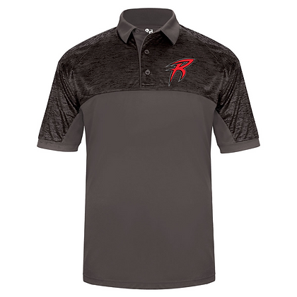 Akron Racers Embroidered Polo Design 2
