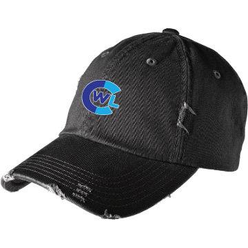 CWL Ladies Distressed Hat