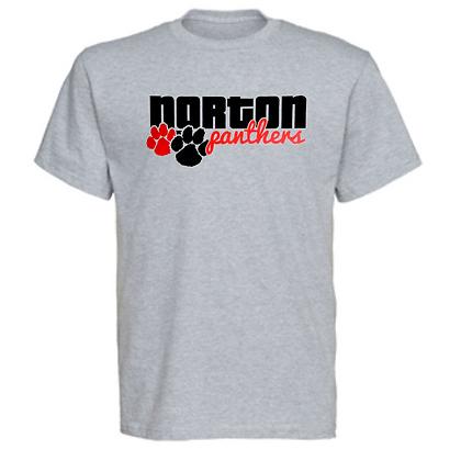 Norton Panthers General Logo #4 Unisex T-Shirt