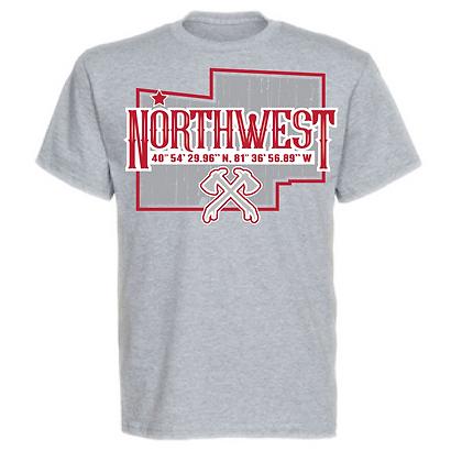 Northwest Indians Stark County Design Unisex T-Shirt