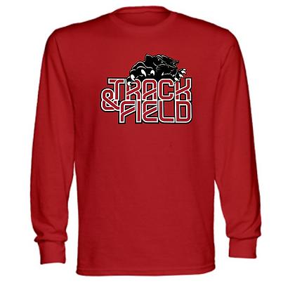 Manchester Panthers Track Logo #76 Unisex Long Sleeve T-Shirt