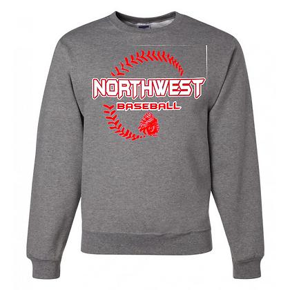 Northwest Indians Baseball Logo #27 Unisex Crew Neck Sweater