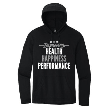 3 Star Crossfit Improving Unisex French Terry Hoodie