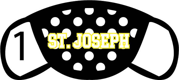 St. Joseph Polka Dots Face Mask