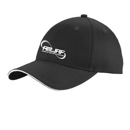 AMJRF Baseball Hat Embroidered White Logo