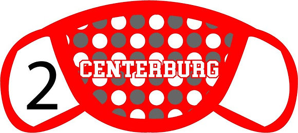 Centerburg Polka Dots Face Mask
