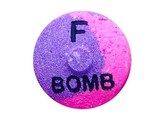 """The """"F"""" Bomb Bath Bomb"""