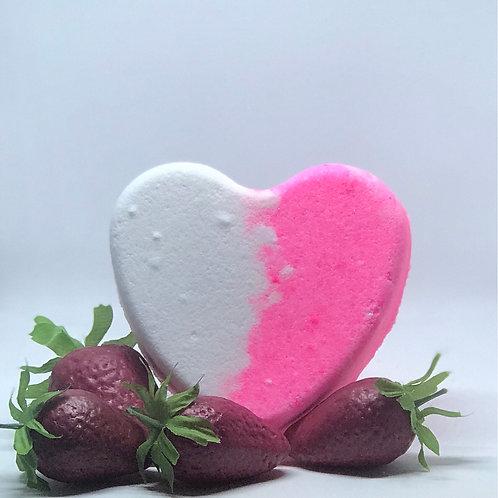 Heartbreaker Bath Bomb-Sweet Strawberry