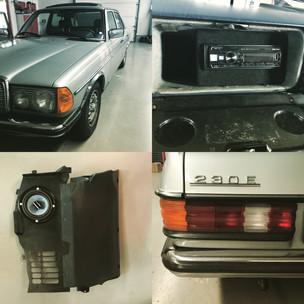 Sound-Upgrade Mercedes W123
