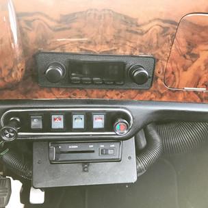 Retrosound Radio im Mini Cooper