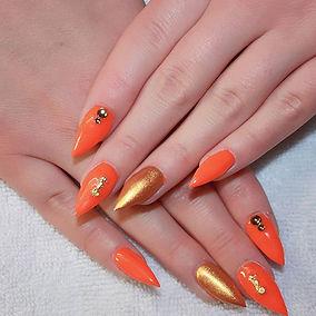 Sassy Summer Nails.. ⚜️⚜️⚜️⚜️_#acrylicna