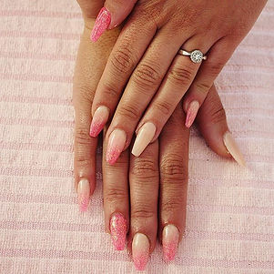 🍧Sorbet inspired nails 🍨_Looks good en